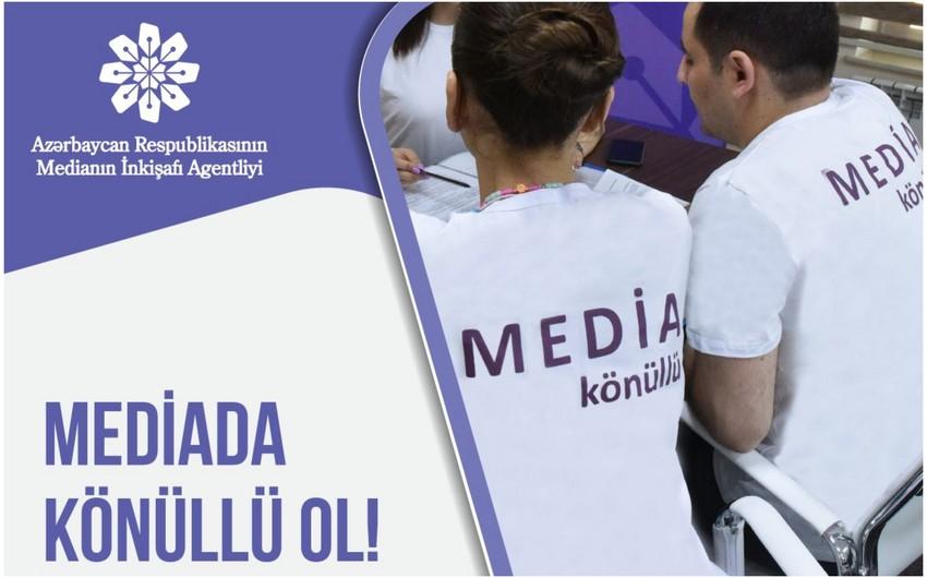 """""""MEDİA könüllüləri"""" proqramı başlayır"""