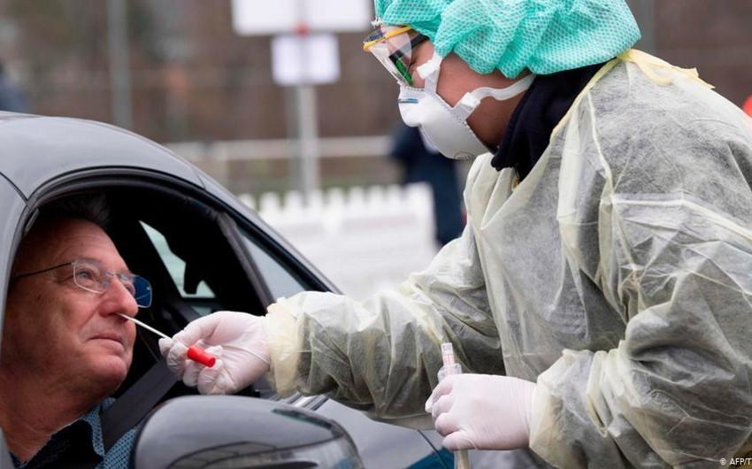 Almaniyada koronavirusa yoluxanların sayı 186 mini ötdü