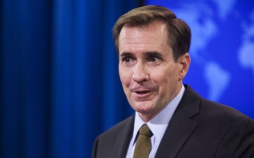 ABŞ rəsmisi terrorçulara 50 ton silah verilməsi sualına cavabdan yayınıb