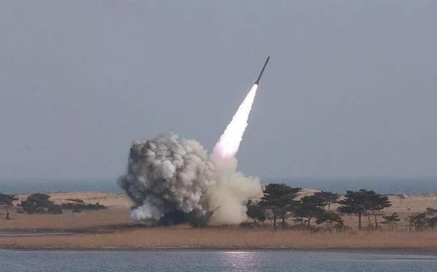 Yəməndən Səudiyyə Ərəbistanı ərazisinə ballistik raket atılıb - VİDEO