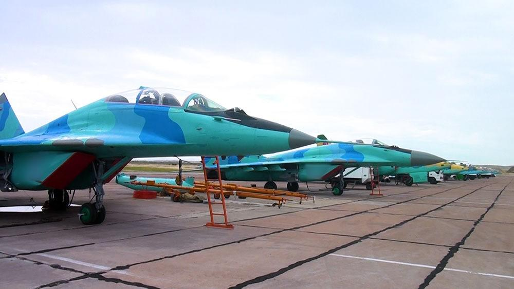 Regrouping of combat aircraft was held