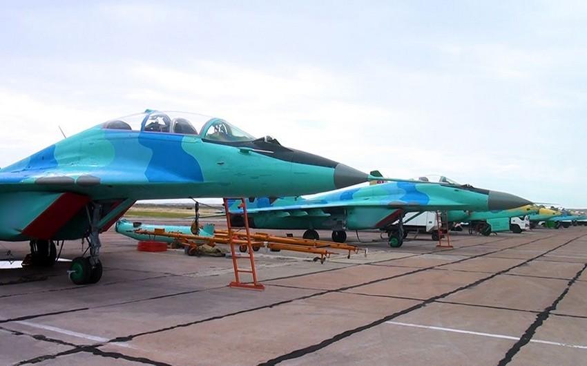 Проведена перегруппировка боевых авиационных средств