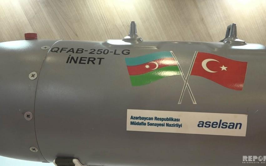 Azərbaycan istehsalı olan aviasiya bombasının əsas göstəriciləri açıqlanıb - VİDEO - EKSKLÜZİV