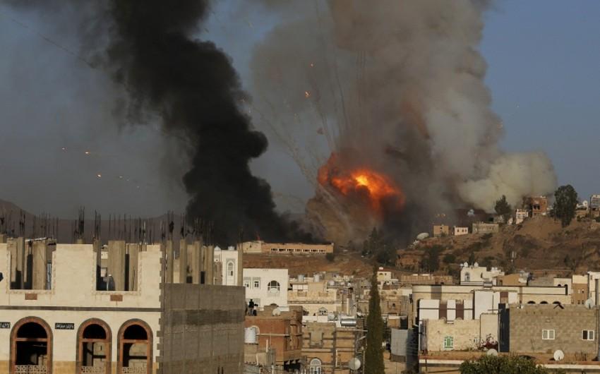 Yəmənə endirilən aviazərbələr nəticəsində 19 nəfər ölüb