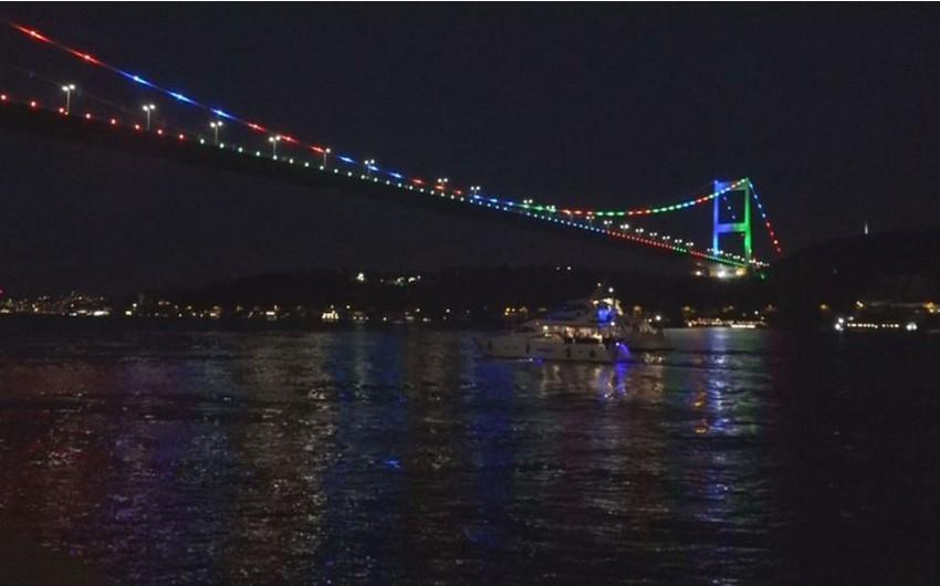 İstanbulun rəmzləri Azərbaycan bayrağının rəngləri ilə işıqlandırılacaq