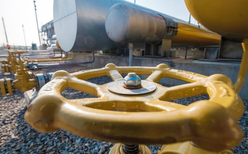 Названы объемы экспорта природного газа Азербайджаном