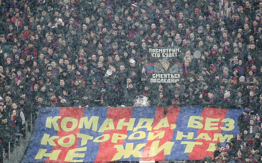 UEFA Rusiya klubunu ev oyunlarını Lujniki stadionunda keçirməkdən məhrum edə bilər