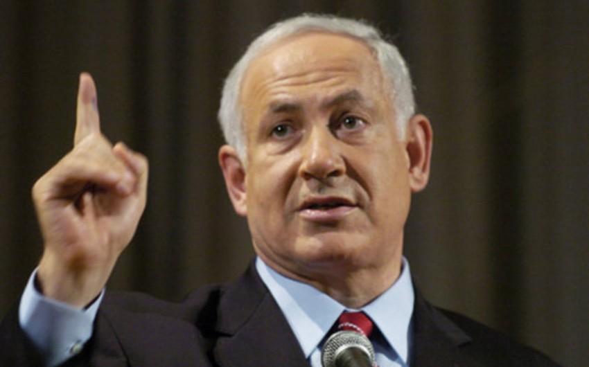 Netanyahu dünyanı Qəzzadan açılan atəşlə bağlı susmaqda ittiham edib