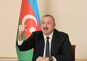 Текст выступления президента Ильхама Алиева к азербайджанскому народу