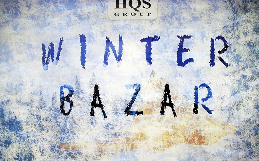 Bakıda Winter Bazar qış yarmarkası keçirilib