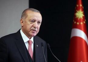 Erdogan says Azerbaijan to send firefighting plane to Turkey
