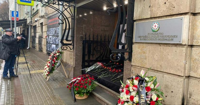 В Москве почтили память жертв Ходжалинской трагедии
