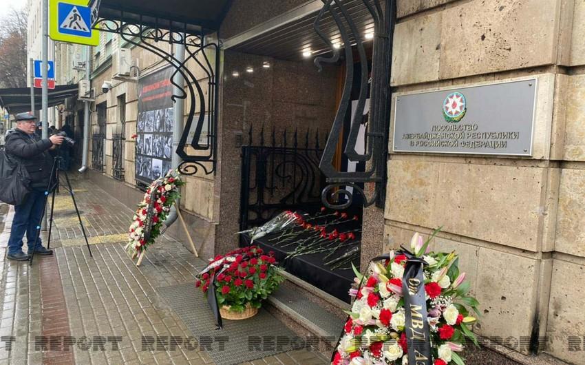 Moskvada Xocalı faciəsi qurbanlarının xatirəsi yad edilib