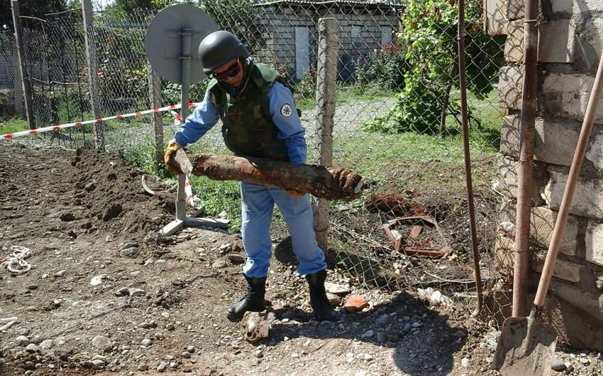 Unexploded ordnance found in Tartar