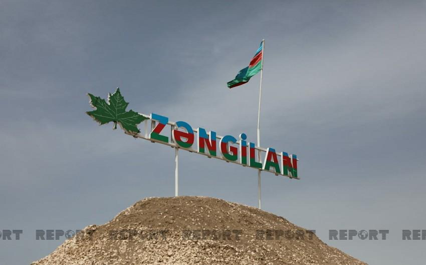Media tour organized to liberated Zangilan district