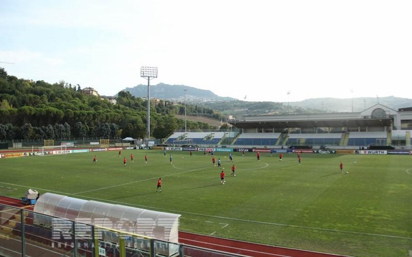 Bu gün futbol üzrə Azərbaycan millisi San-Marino ilə qarşılaşacaq