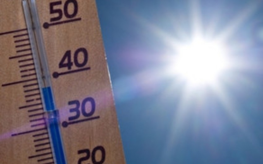 Temperature will rise to 39 on Sunday