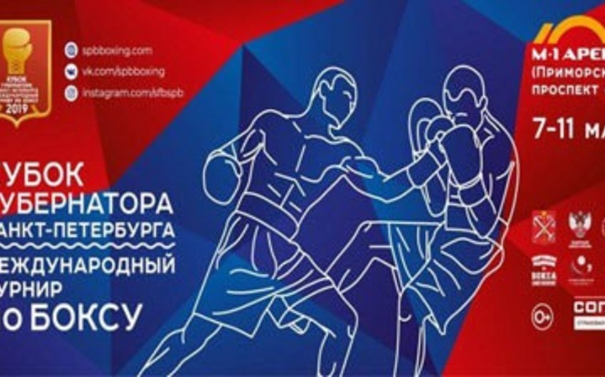Azərbaycanın 9 boksçusu Sankt-Peterburqda qüvvəsini sınayacaq
