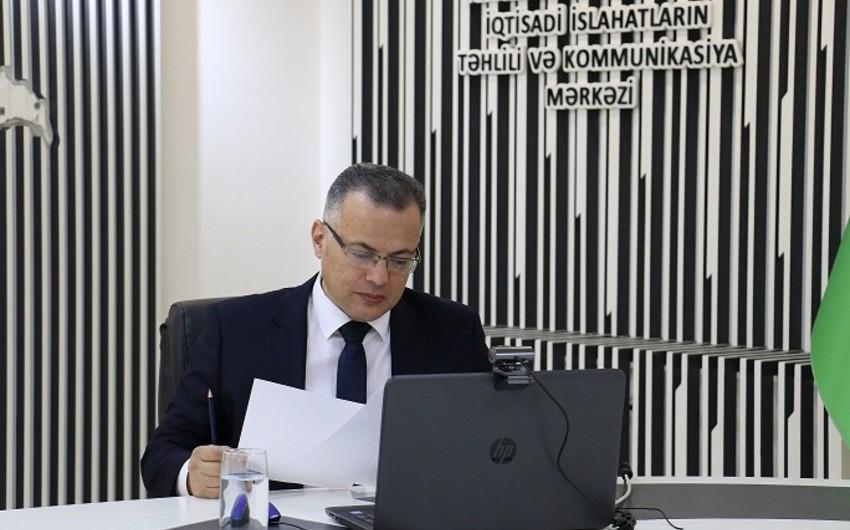 """Vüsal Qasımlı: """"I yarımildə qeyri-neft sektorunda artım 5,1%-ə çatıb"""""""