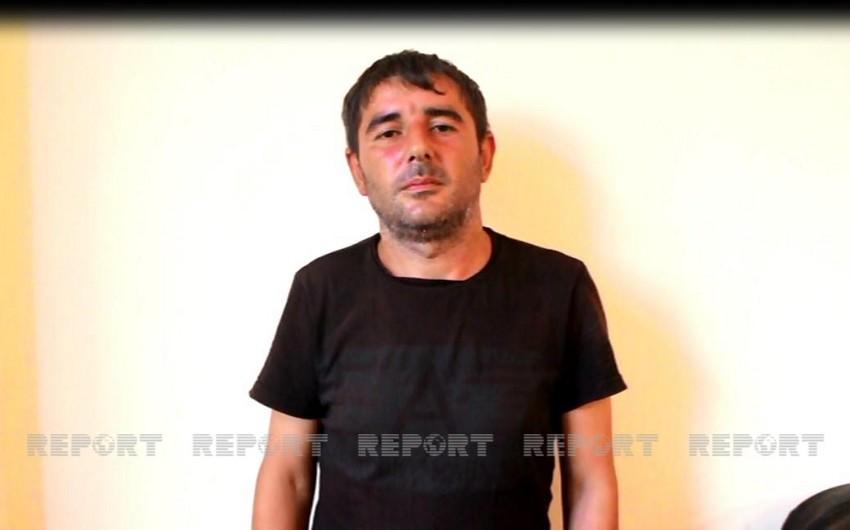 """Zaqatalada polis """"patı""""əməliyyatı keçirib, keçmiş məhkum saxlanılıb - VİDEO"""