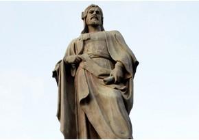 Statue of Nizami Ganjavi to be erected in two Ukrainian cities