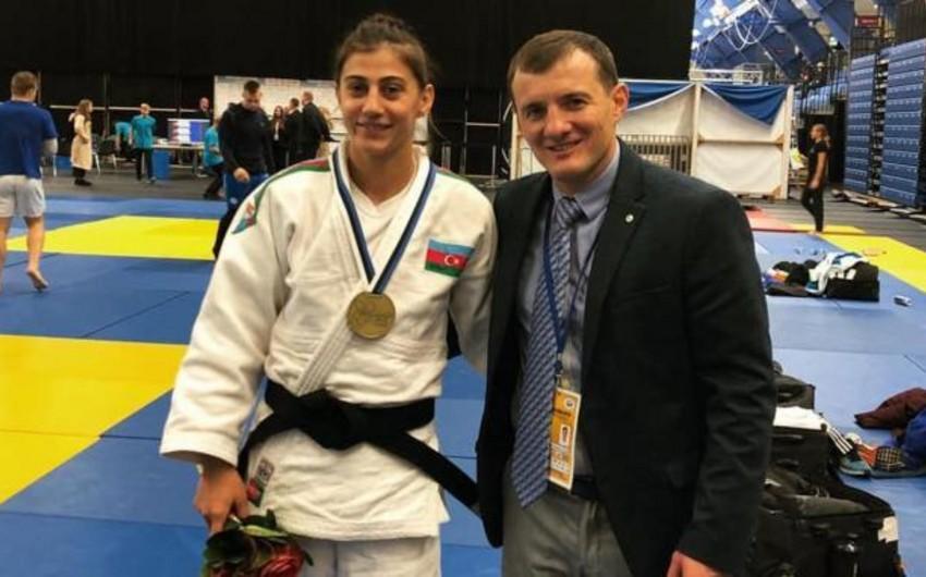 Азербайджанская дзюдоистка завоевала бронзовую медаль на кубке Европы