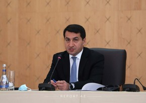 Hikmat Hajiyev makes statement about latest missile attack