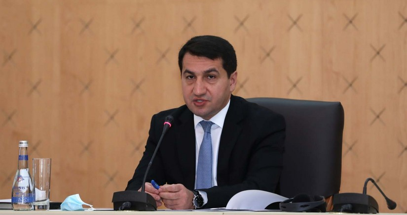 Hikmat Hajiyev: Armenian PM is lying again