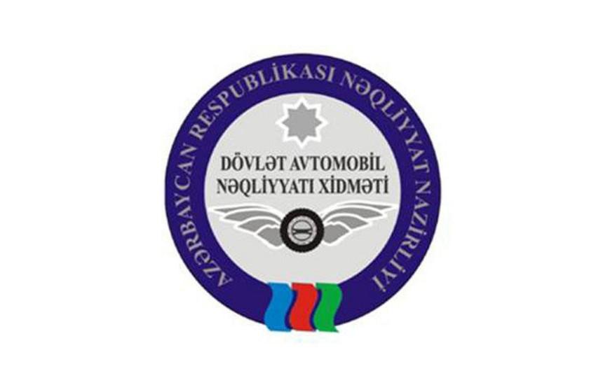 Dövlət Avtomobil Nəqliyyatı Xidməti xüsusi blankların alınması üçün tender keçirir
