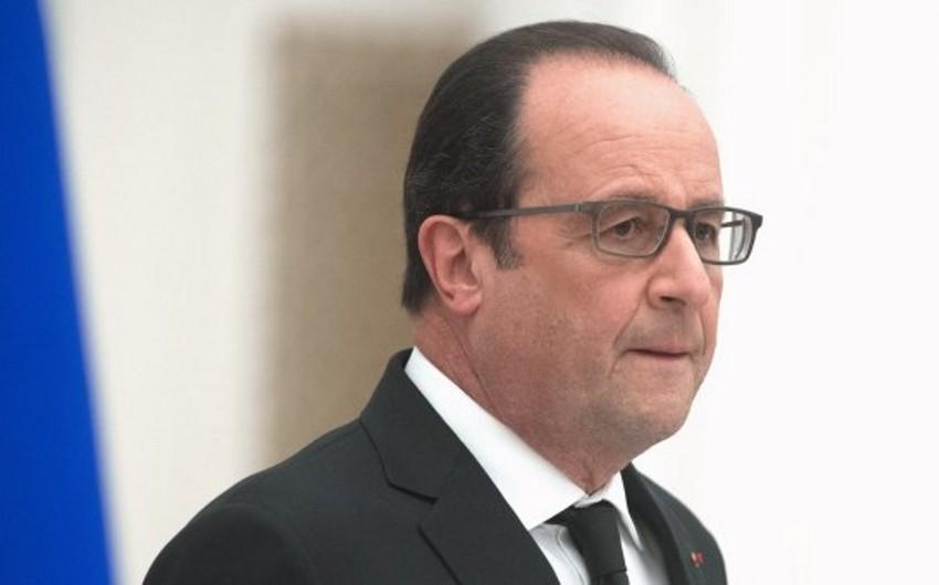 Olland: Fransada terror təhlükəsi səviyyəsi hələ də yüksəkdir