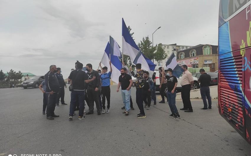 Azarkeşlərdən Sumqayıt klubuna dəstək - FOTO