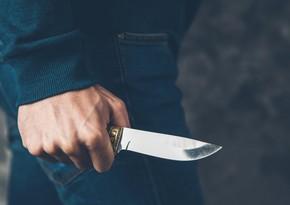 Bakıda 51 yaşlı kişi bıçaqlanaraq qarət edilib