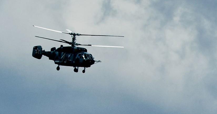 При крушении вертолета Ка-27 ФСБ России никто не выжил