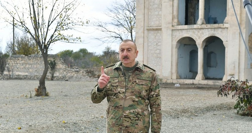 Dövlət başçısı: Şuşa həmişə ermənilər üçün yad şəhər olub