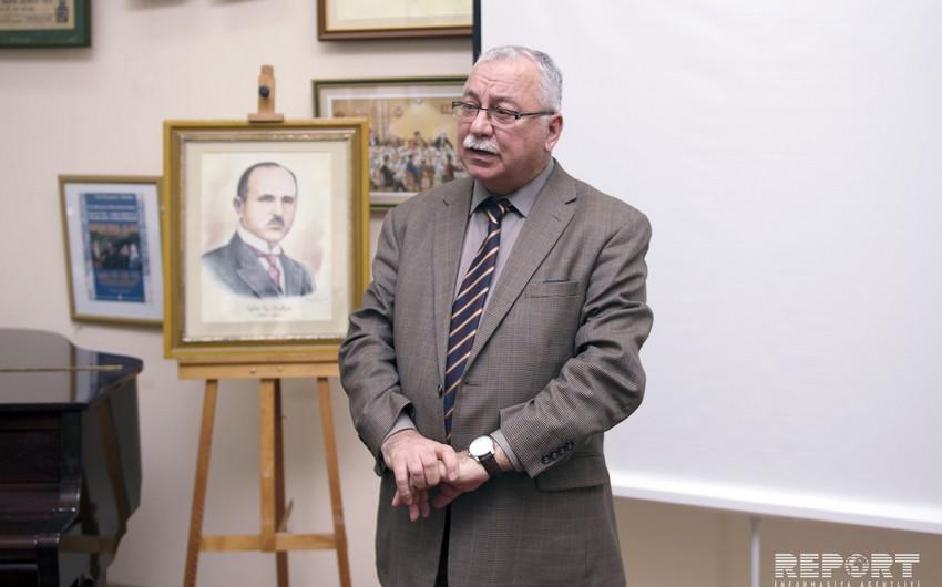 Ceyhun bəy Hacıbəylinin 125 illik yubileyinə həsr olunan tədbir keçirilib - FOTO