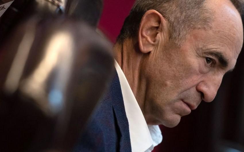 Ermənistanda Robert Koçaryanın azad edilməsi tələbi ilə imzatoplama kampaniyası başlayıb