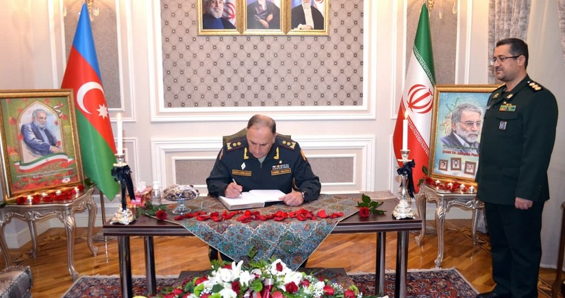 Azerbaijan Defense Ministry expressed condolences to Iranian side