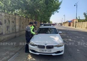 Yol polisi Biləsuvarda reyd keçirdi, sürücülər cərimələndi