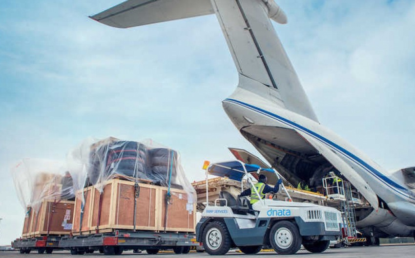 Passenger and cargo transportation by air up in Azerbaijan