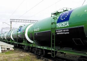 TRACECA-nın Azərbaycan hissəsində tranzit yük daşımaları 3 %-dən çox artıb