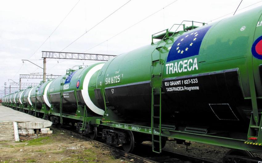 TRACECA-nın Azərbaycan hissəsində tranzit daşımalar 10%-ə yaxın artıb