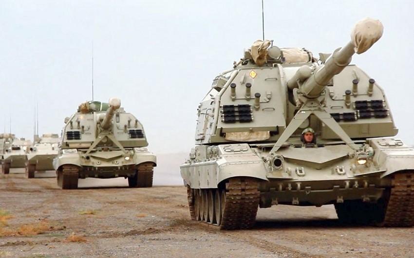 Azərbaycan Ordusunun genişmiqyaslı təlimləri başlayıb - VİDEO - YENİLƏNİB