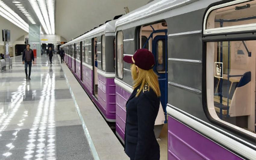 Metroya maskasız girən şəxs 10 günlük həbs edildi