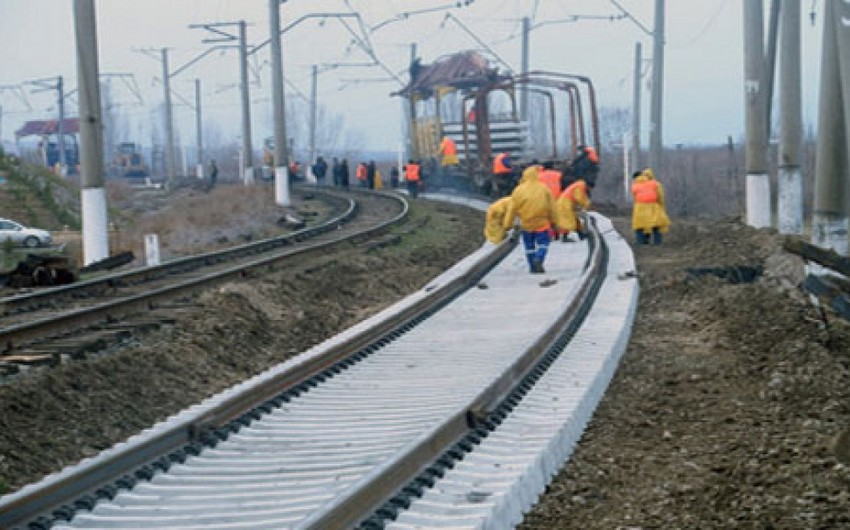 Bakı-Tbilisi-Qars dəmir yolu layihəsi 2-3 aya tamamlanacaq