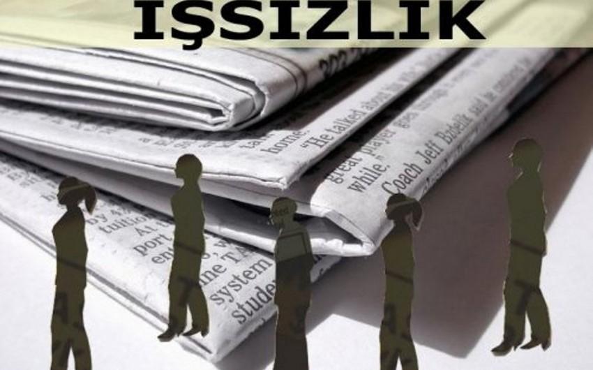 Azərbaycanda rəsmi işsiz statusu alanların sayı açıqlanıb