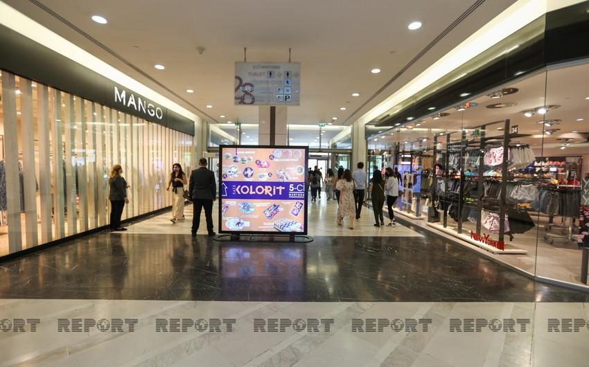 Mallların girişində ziyarətçilərin hərarəti ölçülmür - VİDEO