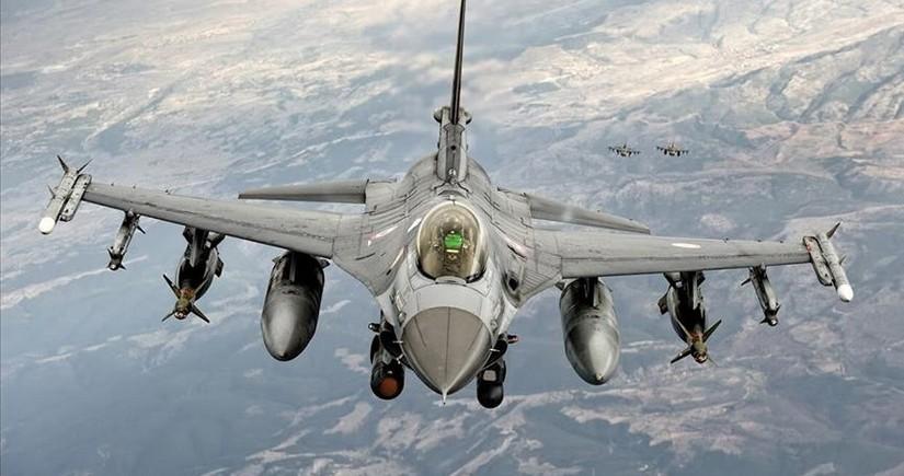 Türkiyə Hərbi Hava Qüvvələri İraqda terrorçuları məhv etdi
