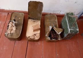 В Газахе и Геранбое обнаружены гранаты и боеприпасы