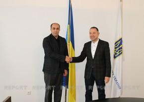 Украинский министр призвал азербайджанскую молодежь к активному сотрудничеству