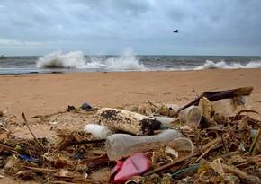 Okeana düşən plastik materiallar çox xırda hissələrə bölünür